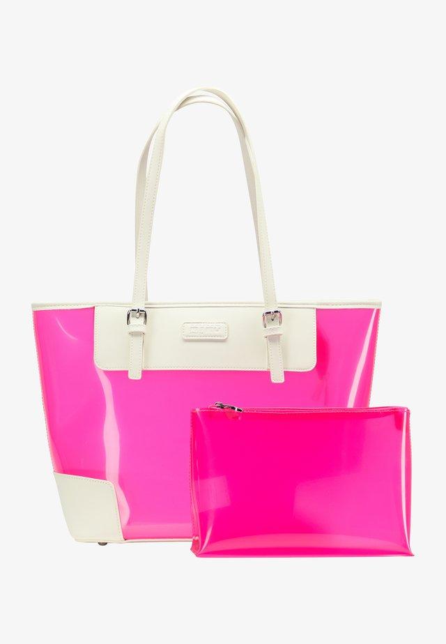 Tote bag - neon pink
