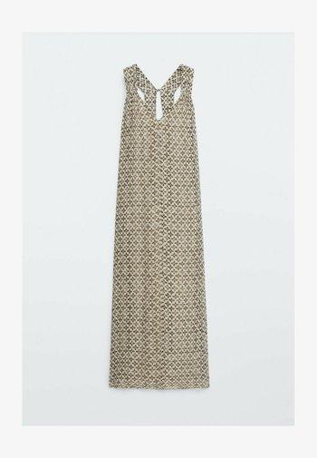 MIT BLUMENPRINT  - Day dress - beige
