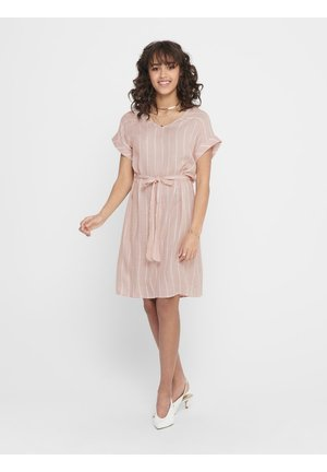 JDYJANINE DRESS - Day dress - peach whip
