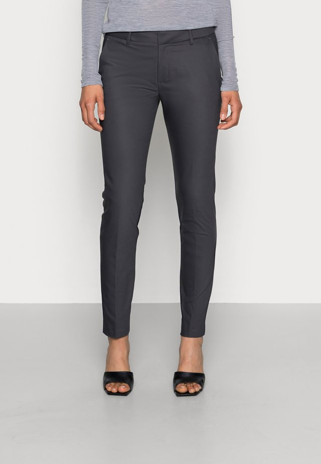 ABBEY PANT  - Kalhoty - antracite