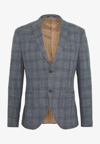Isaac Dewhirst - BLUE CHECK 3PCS SUIT SUIT - Suit - blue - 2