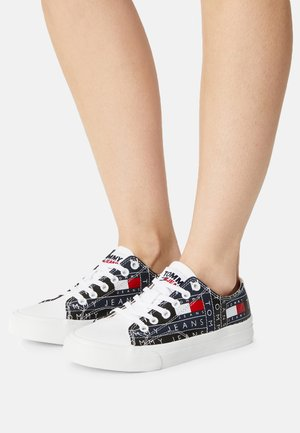 PRINT - Zapatillas - red/white/blue