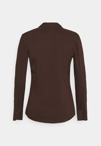 More & More - BLOUSE SLEEVE - Skjortebluser - chocolate - 1