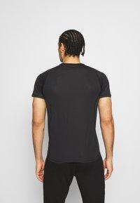 Endurance - LASSE TEE - T-shirt imprimé - black - 2
