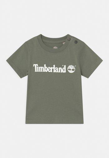 SHORT SLEEVES  - Print T-shirt - green