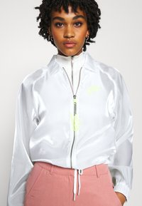 Nike Sportswear - AIR SHEEN - Summer jacket - white/volt - 3