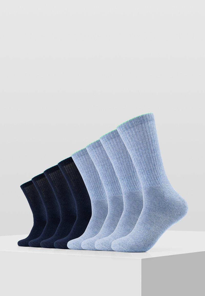 Skechers - 8 PACK - Socks - blue