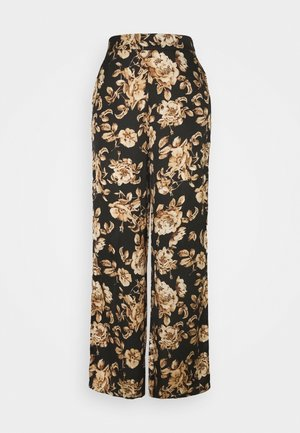 VILOMASI  PANTS - Trousers - black
