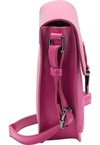 IZIA - MIT KUNSTFELL - Across body bag - pink - 3