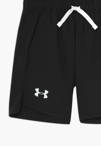 Under Armour - WOVEN SHORTS - Sports shorts - black/white