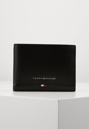BUSINESS LEATHER EXTRA COIN - Plånbok - black