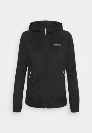 CUBA - Zip-up hoodie - black