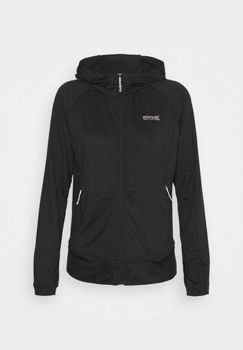 CUBA - veste en sweat zippée - black