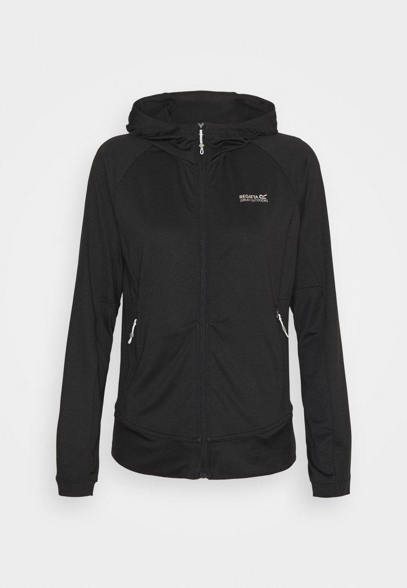 Regatta - CUBA - Zip-up hoodie - black