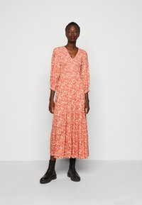YAS Tall - YASDAMASK LONG DRESS - Robe longue - whisper pink - 0