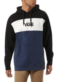 Vans - RETRO ACTIVE PO II - Sweatshirt - black-dress blues - 1