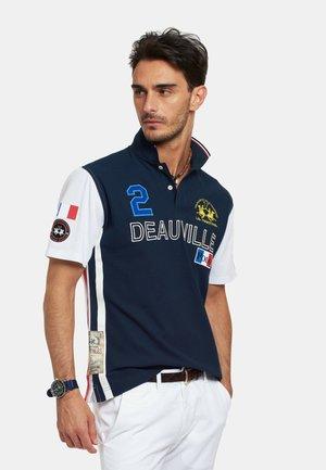 RUBES - Polo shirt - navy/offwhite