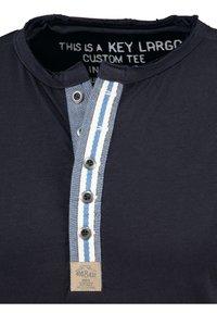 Key Largo - ARENA  - Print T-shirt - navy - 2