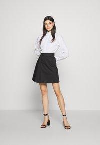 MAX&Co. - DISCORSO - A-line skirt - black - 1
