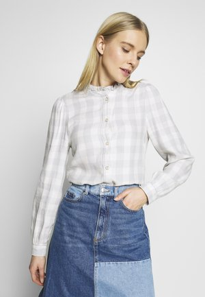 Camicetta - grey plaid