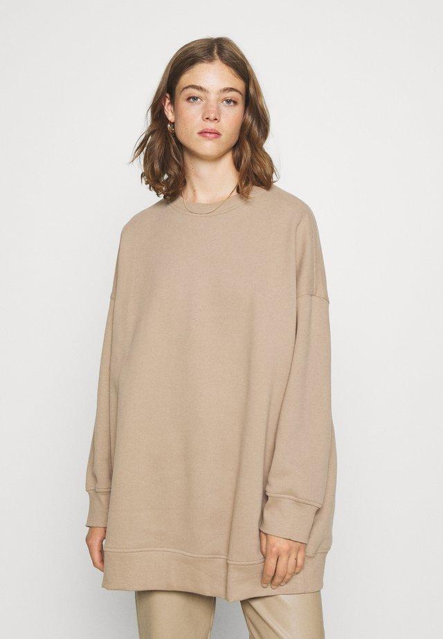 BEATA - Sweatshirt - beige dark