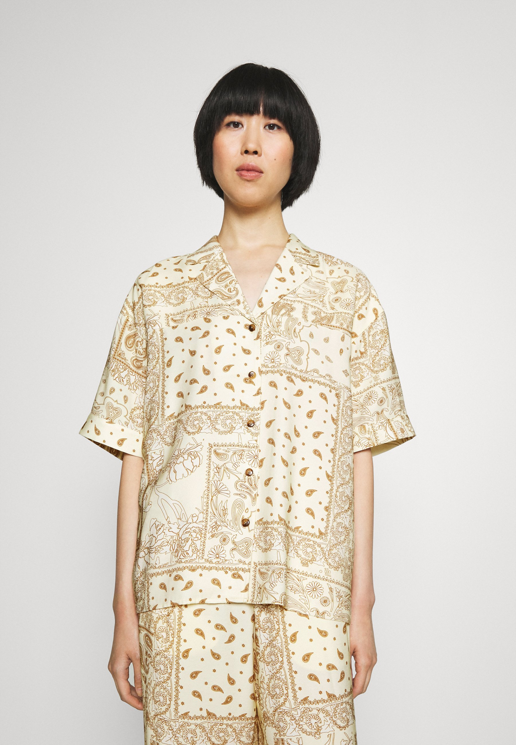 Women EDGAR PRINT - Button-down blouse