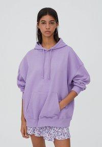 PULL&BEAR - Hoodie - purple - 0