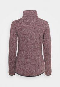Campagnolo - WOMAN JACKET - Fleece jacket - sangria/antracite - 1
