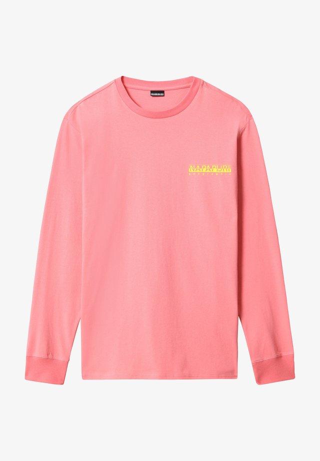 BEATNIK - Pitkähihainen paita - pink strawberry