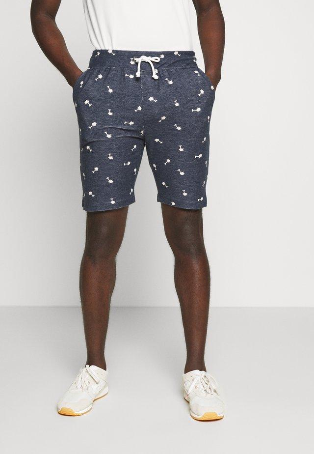 STIAN - Teplákové kalhoty - navy