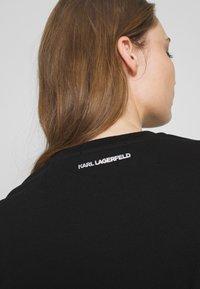 KARL LAGERFELD - IKONIK - Sudadera - black - 5