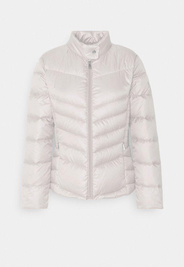 MOTO JACKET - Down jacket - luxe chino