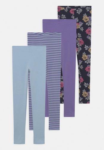 NKFNADDIE 4 PACK - Leggings - Trousers - dark sapphire