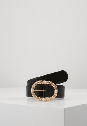 PCONIA WAIST BELT KEY - Pásek - black/gold-coloured