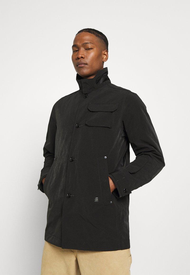 G-Star - UTILITY HB TAPE TRENCH - Trenchcoat - black
