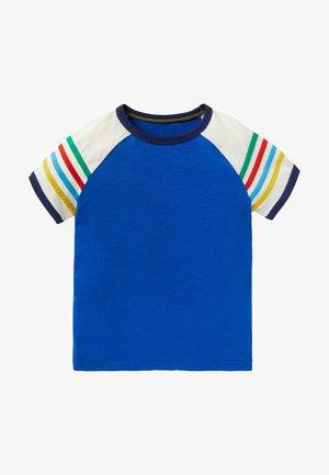 Print T-shirt - blitzblau, regenbogen