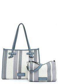 Emily & Noah - Handbag - blue stripes - 5
