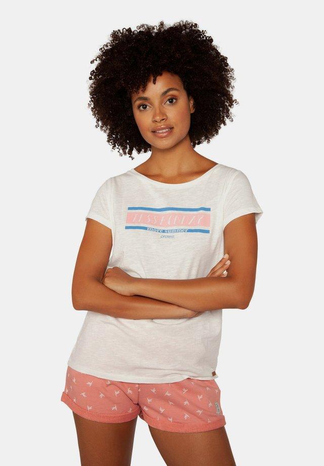 TALLEY - T-shirt print - off-white