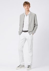 BOSS - RICE3-D SLIM FIT - Chinos - white - 1