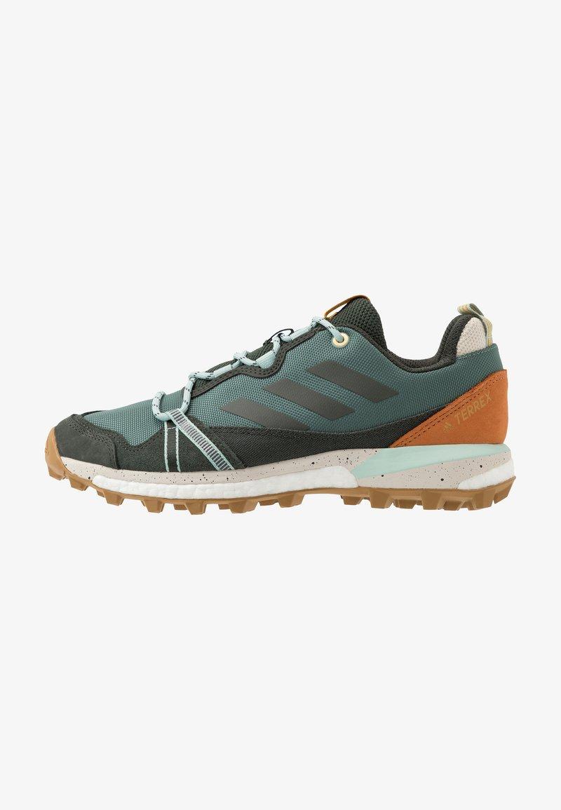 adidas Performance - TERREX SKYCHASER LT - Trail running shoes - legend earth