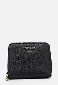 Guess - NAYA SMALL ZIP AROUND - Wallet - black - 4
