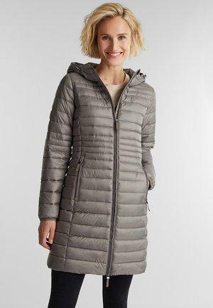 Winter coat - light gunmetal