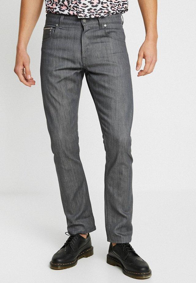 REMBRANDT - Jeans straight leg - original grey selvedge