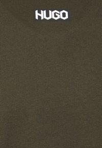 HUGO - DURNED - Basic T-shirt - dark green - 2