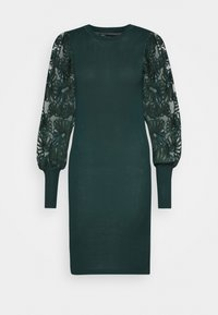 ONLY - ONLFLORA DRESS  - Robe pull - ponderosa pine - 4