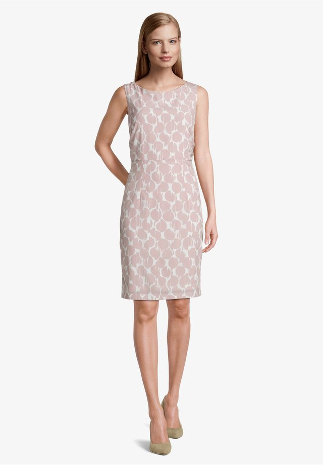 Day dress - cream/rosé