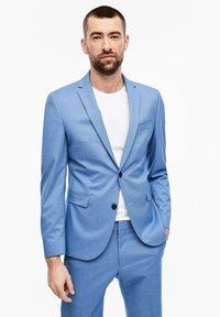s.Oliver BLACK LABEL - MIT WEBSTRUKTUR - Suit jacket - blue - 3