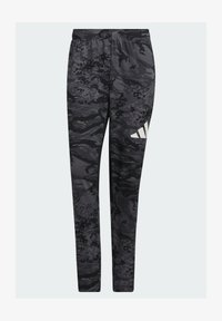 adidas Performance - 3 BAR CAMOUFLAGE DESIGNED4TRAINING PANTS - Träningsbyxor - black - 4