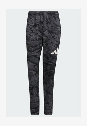 3 BAR CAMOUFLAGE DESIGNED4TRAINING PANTS - Tracksuit bottoms - black