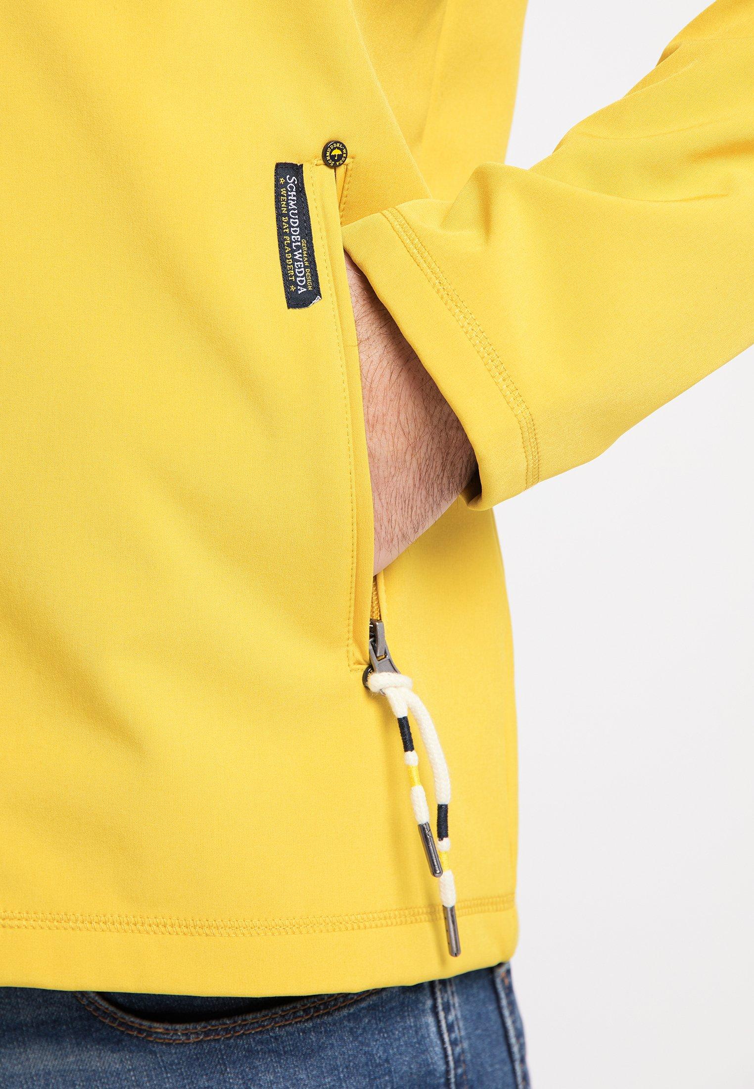 Schmuddelwedda Blouson - mustard melange